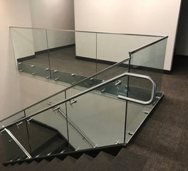 Denver Glass Interiors Glass Railings and metal handrails Denver CO