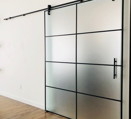 DGI Denver Glass Interiors Glass Barn Doors
