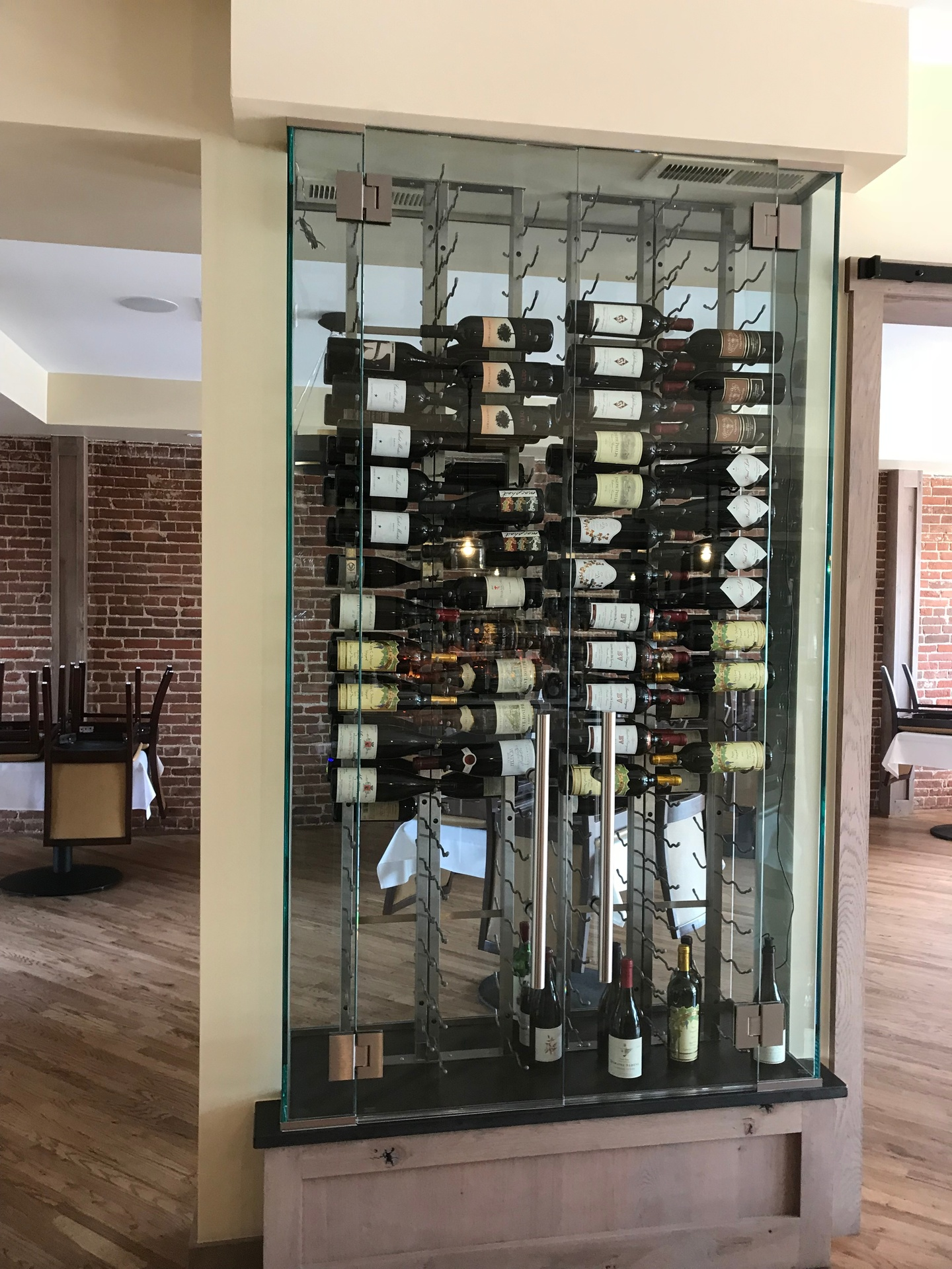 DGI measures, cuts, and installs glass tables, shelves, and mirrors to create glass elegance for any location.