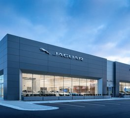 D.J. Kranz Luther Jaguar Land Rover Minneapolis Car Dealership Exterior Design