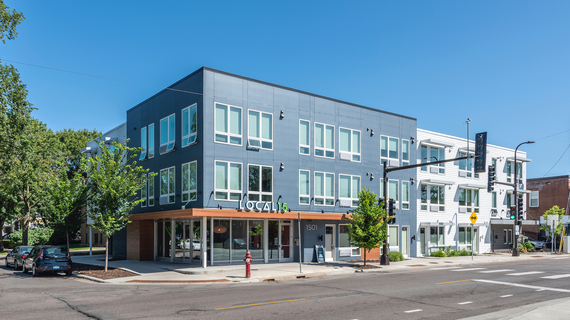 DJR Architecture Apartment Building Design Exterior Facade ...