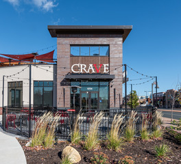 DJR Architecture Crave The Shoppes at Arbor Lakes Maple Grove Minnesota Restaurant Bar Design Exterior