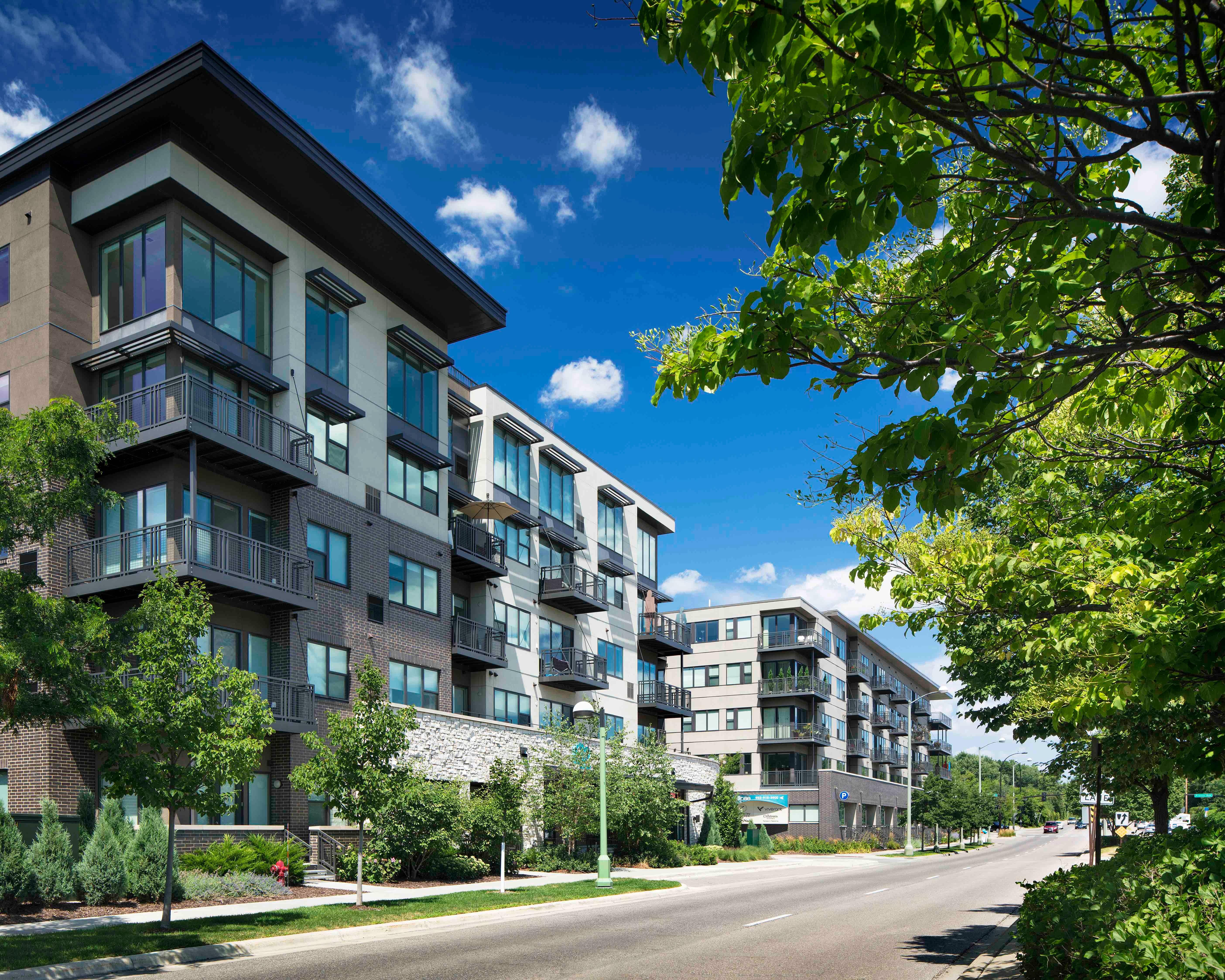 e2 Apartments | St. Louis Park, MN | DJR Architecture