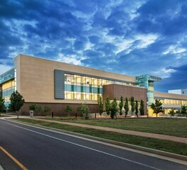 DLSS Manufacturing University of Tennessee Joint Institute for Advanced Materials exterior view