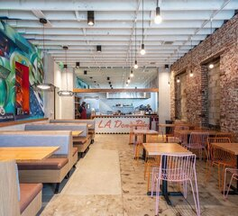 do good work guerrilla tacos dining area