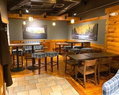 Dras Cases Caribou Coffee Shop Interior Design