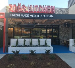 Dras Cases Zoes Kitchen Raleigh exterior new