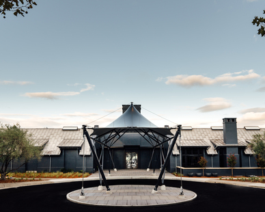 From severe weather to harsh chemicals, Tedlar® protective film provides long-term durability and performance. The exterior canopy of the Prisoner Winery will keep its beautiful aesthetic for years because of the Tedlar® PVF properties.