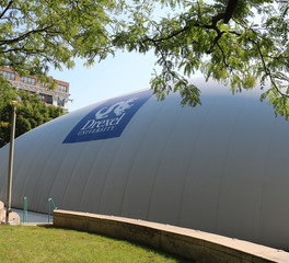 DuPont Tedlar Wallcovering Film Drexel University Buckley Bubble Air Inflated Structure