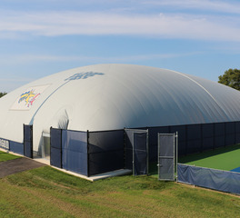 DuPont Tedlar Wallcovering Film Drexel University Vidas Athletic Field Inflatable Dome