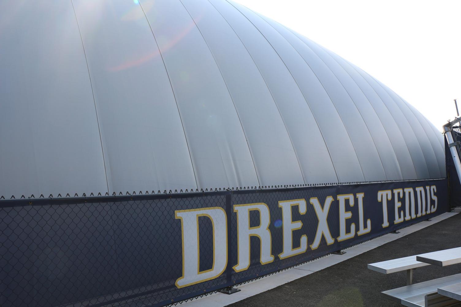DuPont Tedlar Wallcovering Film Drexel University Vidas Athletic Field Inflatable Dome Exterior Protective Film