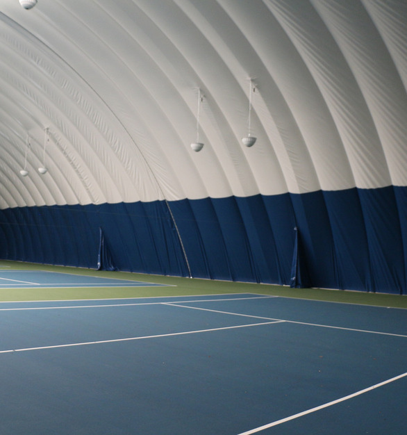 DuPont Tedlar Wallcovering Film Drexel University Vidas Athletic Field Inflatable Dome Protective Film Indoor Tennis Courts