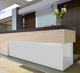 Durasein Countertop Reception Desk