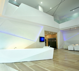 Durasein Nippon Cargo Airlines Lobby Reception Desk