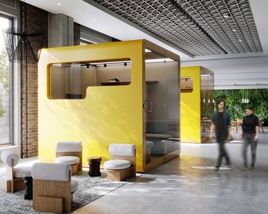 How far can you flex your creativity? Here's your chance to find out. With Durasein solid surface, any shape or form can be fabricated exactly as you envision it, encouraging you to go bigger and bolder with workplace design.