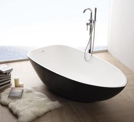 Durasein solid surface bathtub