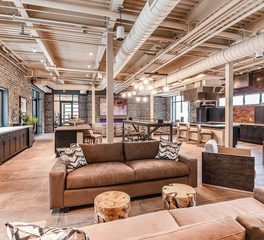Dwell Design Studio JTB Apartments Tenant Common Area Design