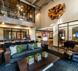 Dwell Design Studio The Point at Ridgeline Apartment Building Lounge