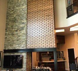 Earthcore indoor lounge fireplace