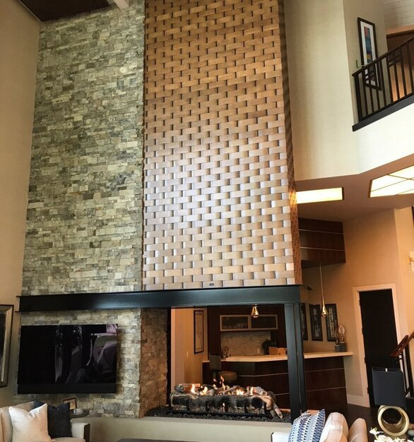 The beautiful customizability of Earthcore products can be seen in this image of a hotel lobby.