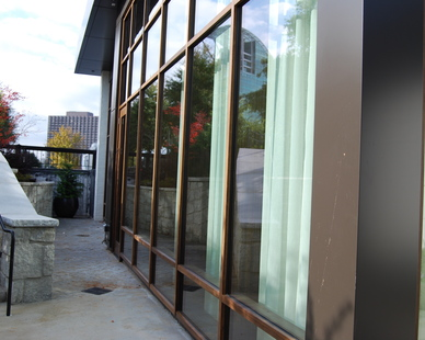 Ecco Restaurant, located in Atlanta, Georgia, integrated Lamboo® Vue™ as well as Lamboo® Glazing™ products within it's final design.
