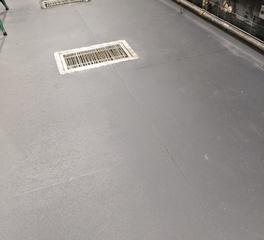 Eco-Tek NY Eco-Grip Flooring installed in a kitchen
