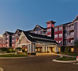 EDCO Products Guardian Angels Assisted Living Exterior ENTEX® Metal Siding