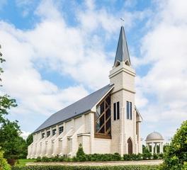 eldorado stone free chapel gainesville campus exterior view