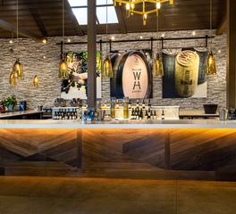 Eldorado Stone Heritage Winery bar area
