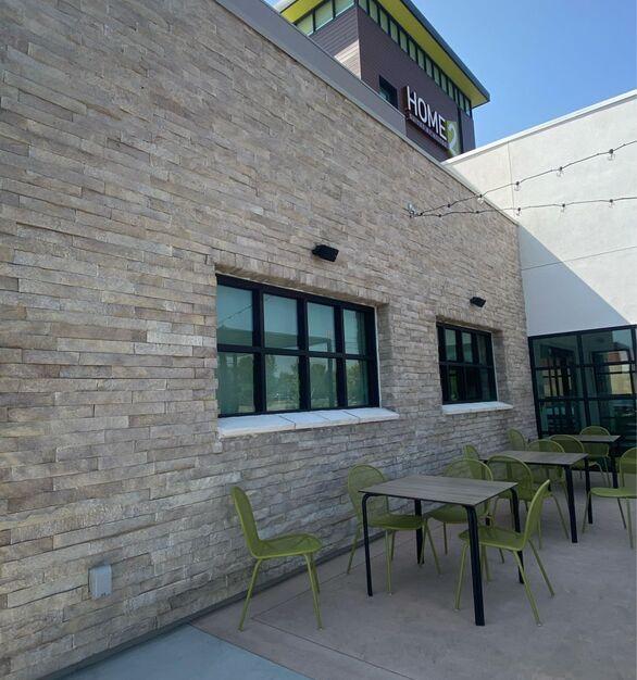 eldorado stone home2suites by hilton exterior stone siding
