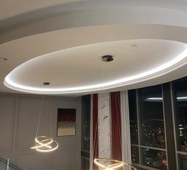 Elliptical Ceiling Feature