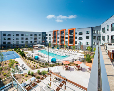 A scenic oasis, a place for community, activity, entertainment and a resort-style atmosphere in an urban landscape. Union at Berkley Riverfront Park is the perfect place to call home, the pinnacle of urban luxury apartment living.