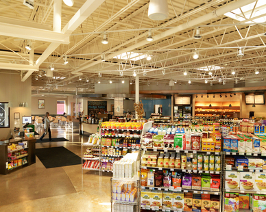 Market Inside Wedge Table in Minneapolis, MN