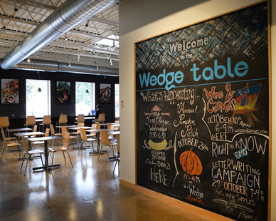 Interior of Wedge Table in Minneapolis, MN