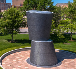 Endicott Clay Products A Monumental Journey Outdoor Sculpture Face Brick Design Application