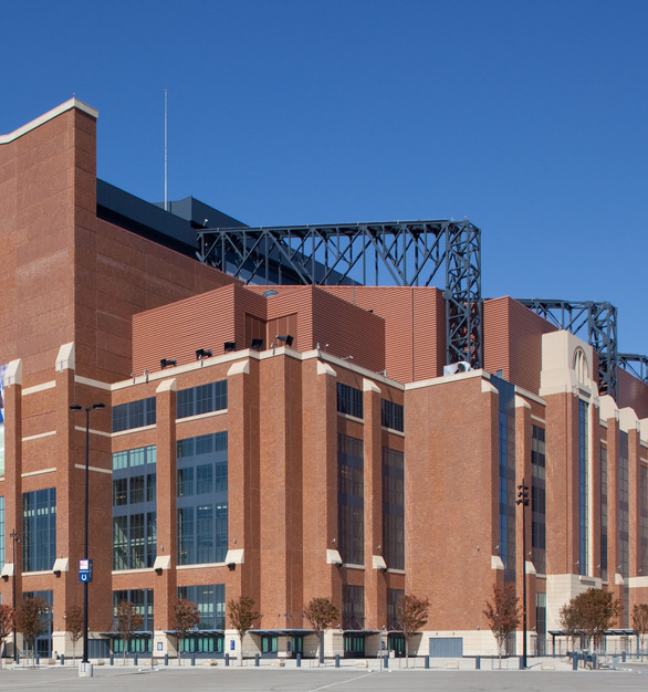Endicott Clay Products Lucas Oil Football Stadium Thin Brick and Exterior Layout and Design