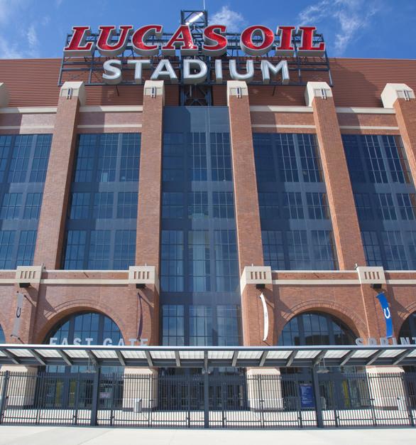 Endicott Clay Products Lucas Oil Football Stadium Thin Brick Exterior
