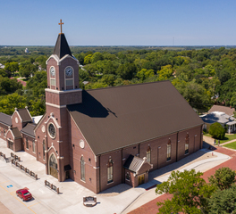 Endicott Clay Products St Gregory The Great Catholic Church Addition Full Exterior Design