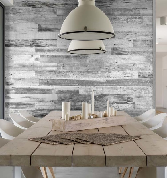 The Barnwood Collection combines the beauty of aged reclaimed wood planks with the functionality for everyday life.