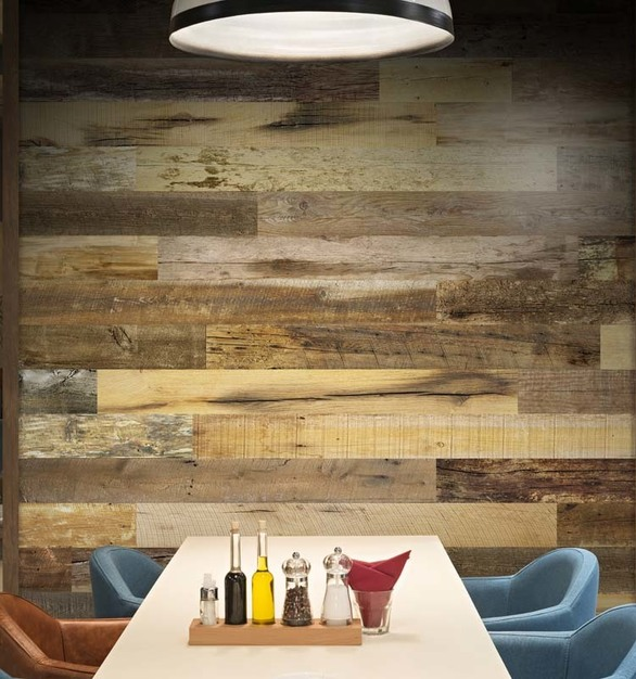 There's no getting around it – walls need to be washable and easy to clean, making Enkor's innovative wall planks ideal for any restaurant.