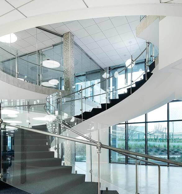 Glasshape is proud to offer a tempered (toughened) AND laminated solutions that can also be curved to your specifications.