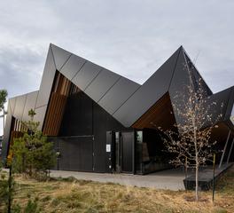 exterior siding edmonton public library sherwin williams coil coating