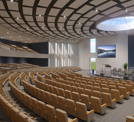 FabriTRAK AUTEM Acoustic Ceilings Auditorium Seating Interior Design