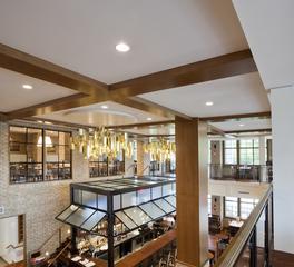 FabriTRAK FabriSPAN Wide Width Fabric System Restaurant Interior Design