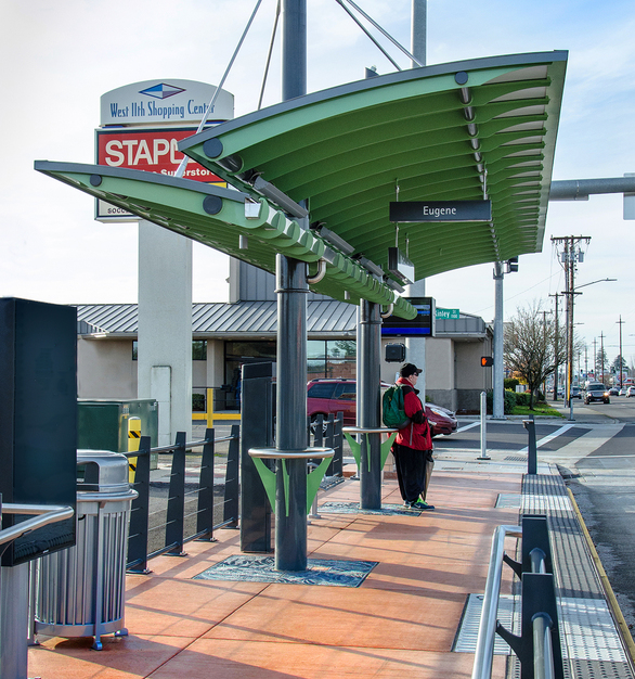Part of creating a safe and attractive transit system is ensuring safe access for those taking other modes to connect with the transit system.