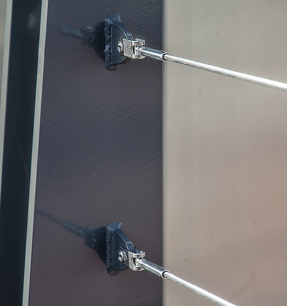 The CableRail cable infill system is slender, stylish, and easy to use. It's an ideal complement to any railing design, indoors or out.