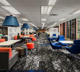 FEH Design Drake University Cowles Library Interior Design
