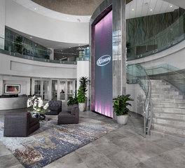 FEH Design Kemin Industries World Headquarters Lobby Design