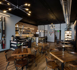 FEH Design Vino 209 Wine Cafe Design