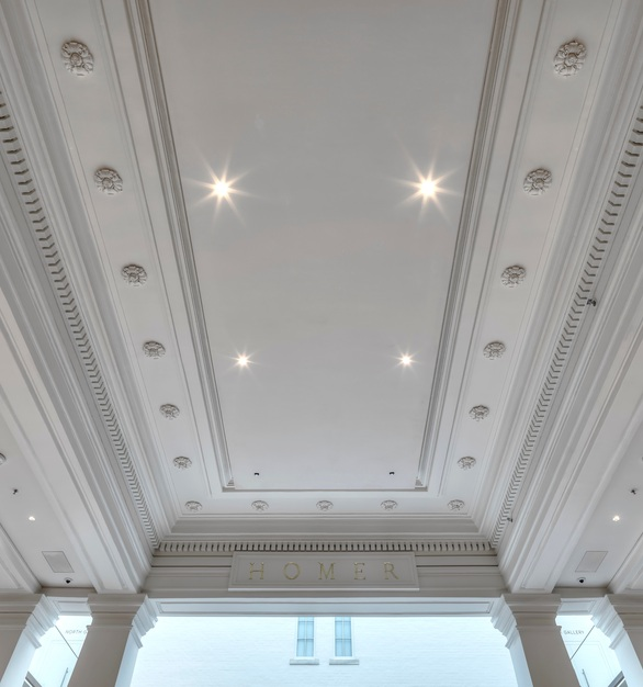 Fellert's Even Better Silk provides seamless sound absorption throughout Apple's store in Washington, D.C.